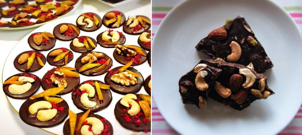 カシューナッツ チョコレート